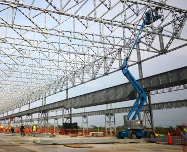 Terniun,  empresa Italo-argentina,  construye la planta siderúrgica más grande de Colombia.